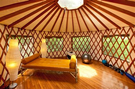 California Modern Backyard Yurt