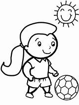 Soccer Coloring Sheets Pages Printable sketch template