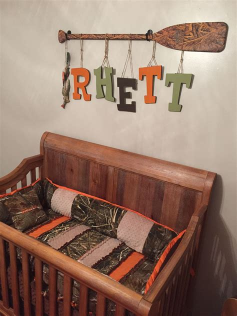 outdoorscamohunting themed nursery