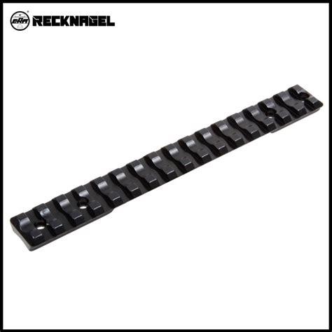 le rail picatinny delta black recknagel picatinny rail rossler titan 3 6 alu 0092