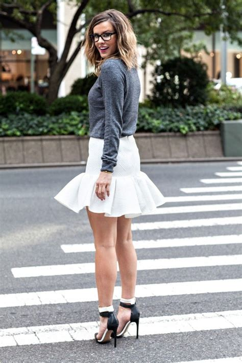 fit  flare skirts images  pinterest