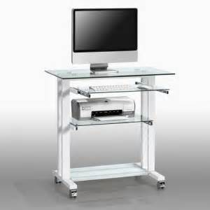 small compact white home office desks and workstations