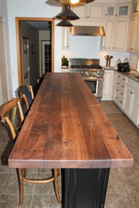 Black Walnut Countertops by Black Walnut Wood Countertops By Craft Surfaces