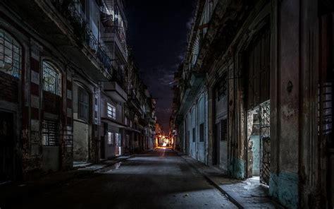 cuba lights architecture city
