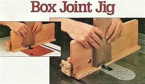 Box Joint Jig Plans • WoodArchivist
