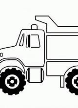 Plow Coloring Truck Snow Template Boys Sketch sketch template