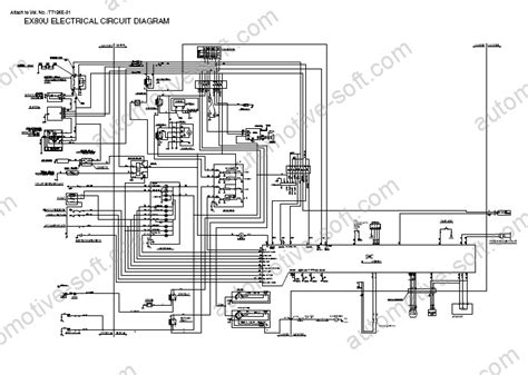 hitachi ex80 u mini excavator workshop service manual troubleshooting circuit diagram