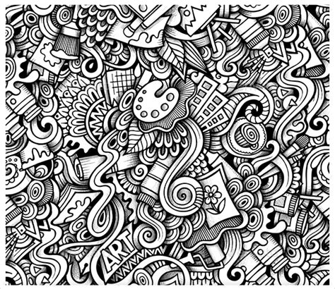 imaginative doodle art designs  premium templates