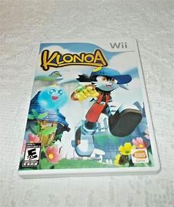 Klonoa  Nintendo Wii  2009  Complete W   Case  U0026 Manual