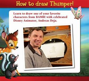 Draw Thumper! Learn to draw one of your favorite ...