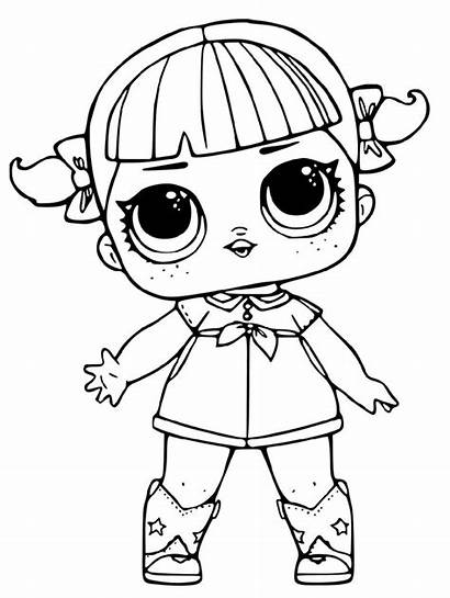 Lol Coloring Doll Pages Omg Dolls Male