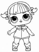 Coloring Lol Pages Doll Omg Dolls Male Popular sketch template