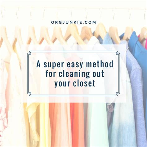 Cleaning Out Closet by A Easy Method For Cleaning Out Your Closet