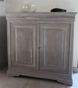 peindre un meuble en merisier peintures et enduits With peindre et patiner un meuble en bois