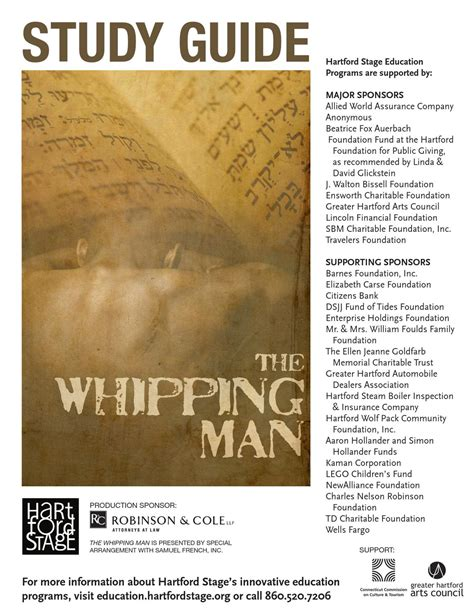 For expert network information on allied world assurance company holdings, ag careers, use ladders $100k+ club. Study Guide: The Whipping Man by Hartford Stage - Issuu