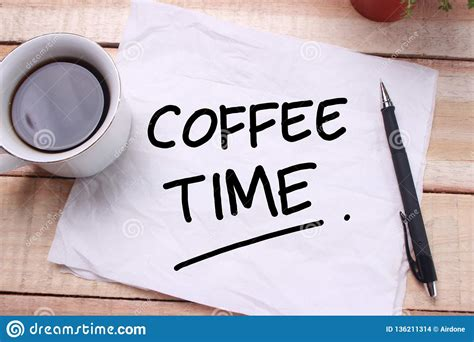Why we cant live without coffee? Time to Break, Coffee Time stock photo. Image of coffee - 136211314