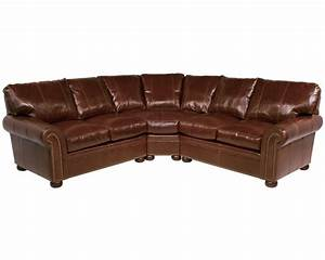 Classic leather easton sectional 11514 leather sectional for Easton leather sectional sofa