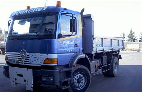 transports bousquet clermont ferrand auvergne camion bi bennes