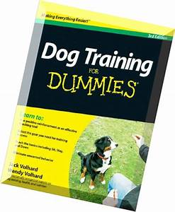 download dog training for dummies 3rd edition pdf magazine With dog training for dummies
