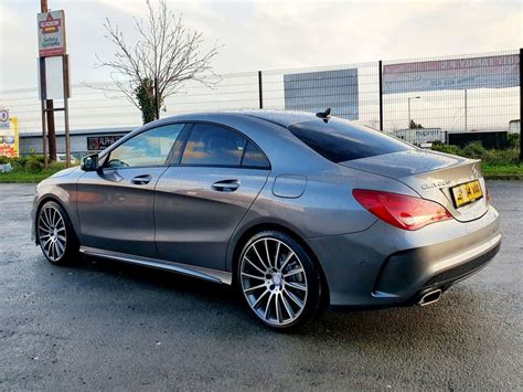 The ice drives the front wheels of the vehicle. 2014 Mercedes-Benz CLA 2.1 220 CDI AMG SPORT 2.1 Diesel - £15995 - Three Bridge Car Sales - Cars NI