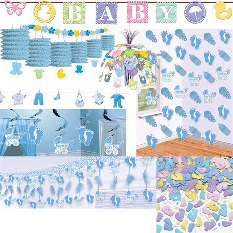 baby geburtstag deko geburt junge dekoration baby shower deko blau hellblau feier geburtstag ebay