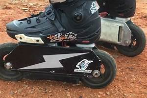 Thundrblades Electric Skates Throttle Your Feet 25 Mph