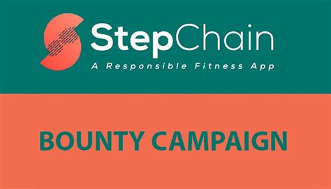 StepChain ICO Bounty Review   ICO Bounty Campaign list
