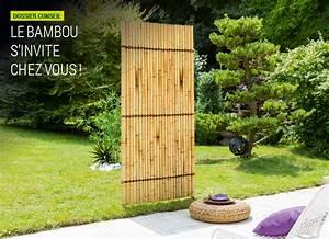 Objet Bambou Faire Soi Meme : bordure panneau d coratif et treillis bambou nortene ~ Melissatoandfro.com Idées de Décoration
