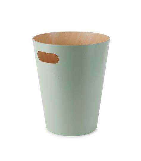 corbeille de bureau corbeille à papier de bureau verte en bois 39 woodrow can