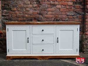 Bespoke Wooden Plank Pine Sideboards By Incite Interiors