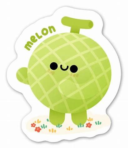 Melon Stickerapp