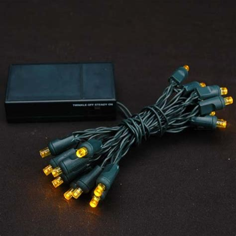 battery operated led light bulb yellow 20 light battery operated christmas lights on green