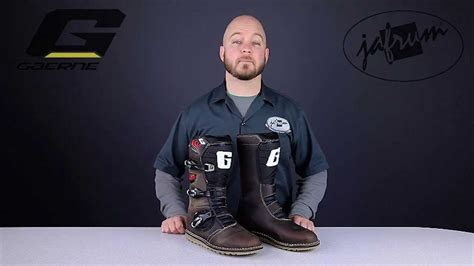 Gaerne Balanced Oiled Motorcycle Boots Review At Jafrum