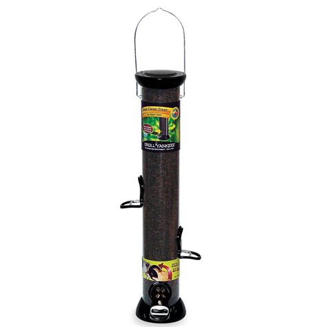 onyx clever clean 18 quot nyjer seed feeder cc18n droll