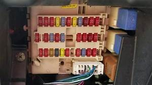 There Are 2 Fuse Box Locations In Nissan Sentra 2000