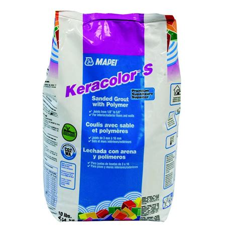 mapei grout mapei keracolor s sanded grout with polymer lowe s canada