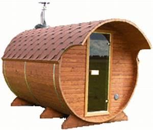 agrobois bain nordique kota sauna baignoire et lavabos With sauna exterieur finlandais bois