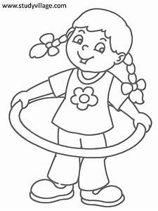 kids playtime coloring page for kids 15 With exercise timers