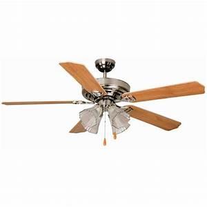Aloha? breeze quot dual mount brushed nickel ceiling fan