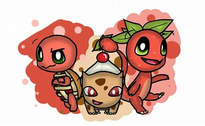 Pokemon Sweet Starters Deviantart