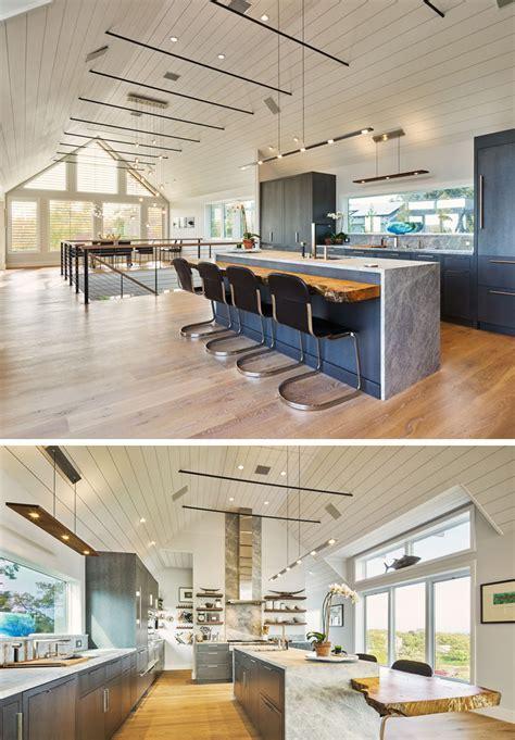Kitchen Island Lighting Idea   Use One Long Light Instead