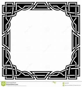 Celtic Border Stock Vector - Image: 46920939
