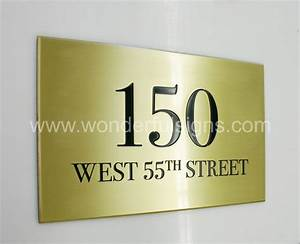 wonderful signs makes metal sign plaques with etched With letters engraved in metal