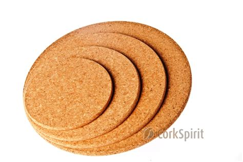 CO0068 Round Cork Hot Pad / Round Cork Trivet / Round Hot Pot Stands Cork Hot Pads Arts and