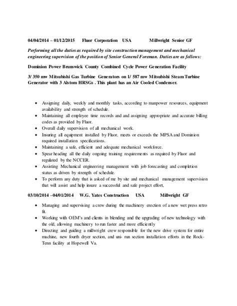 Millwright Resume Objective by Apprentice Millwright Cover Letter Drugerreport732 Web Fc2