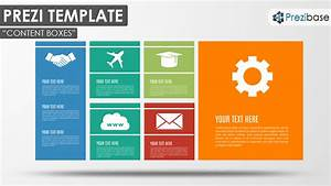 content boxes prezi template prezibase With presi templates
