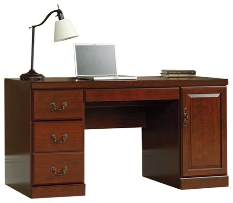 sauder computer desks on sale sauder heritage hill computer credenza transitional