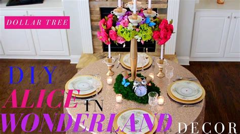 alice and wonderland table decorations diy alice in wonderland decorations dollar tree wedding