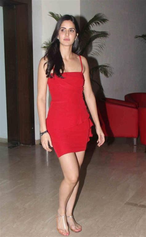 katrina kaif  red  red   wore