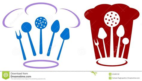 logo chef de cuisine logo de chef photo stock image 23496130
